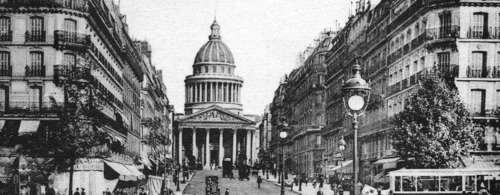 Pantheon Paris historical photo