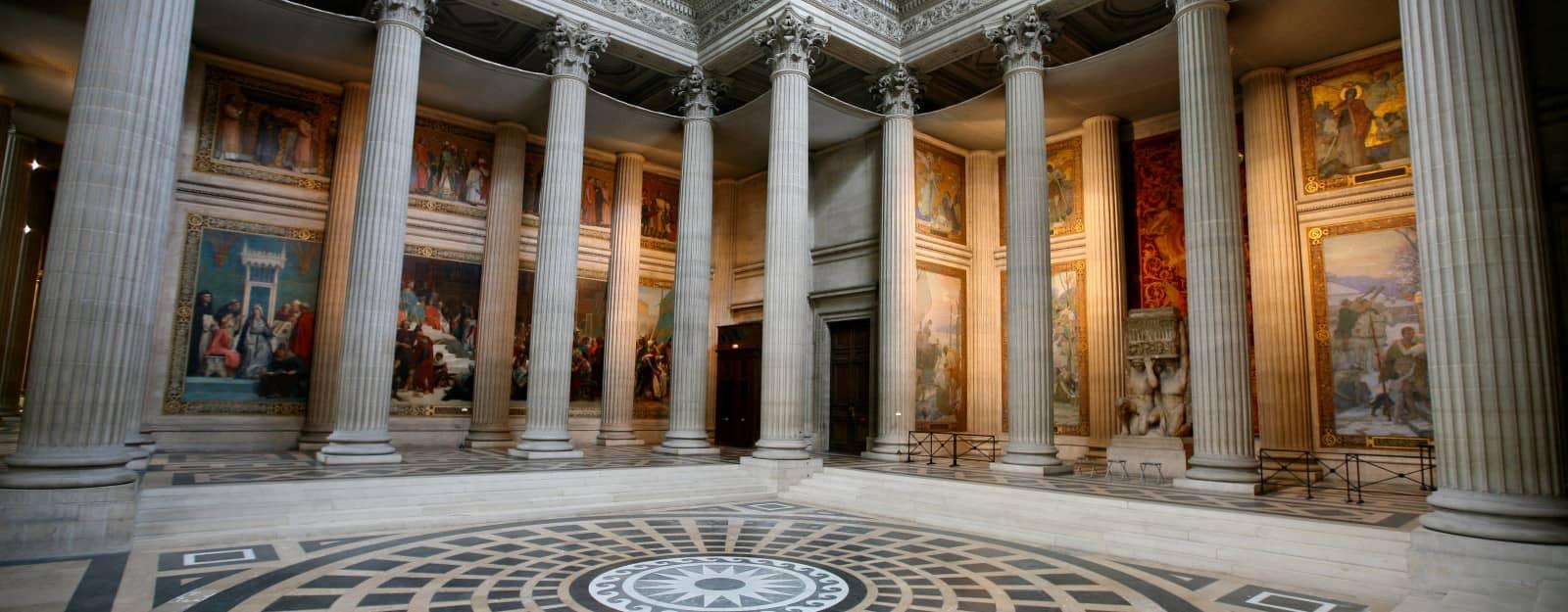 Pantheon Paris beautiful interior image